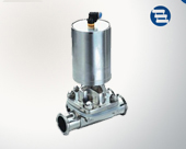 Pneumatic diaphragm valve