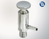 Screw type sampling valve round handwheel