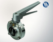 Stainless steel welding butterfly valve handle