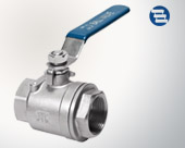 Three welding ball valve