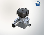 T type three way valve