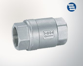 Check valve internal thread