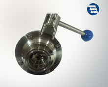 Butterfly -type ball valve