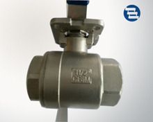 Two ball valve with platform